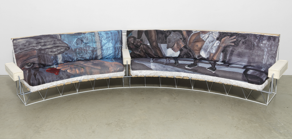 'party people' sofa