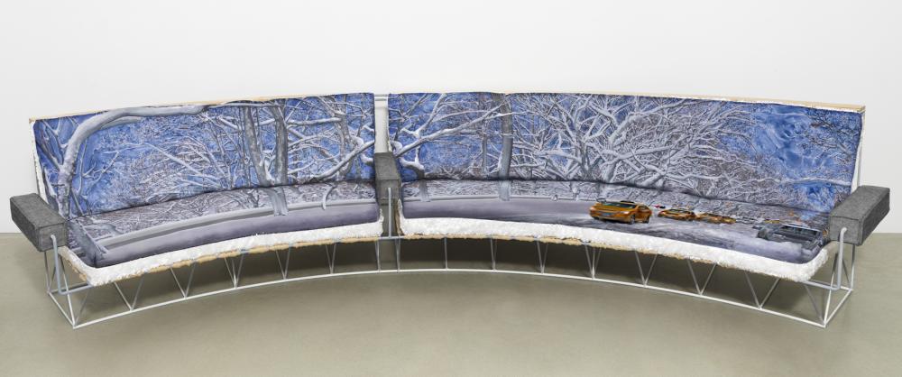 'snow' sofa